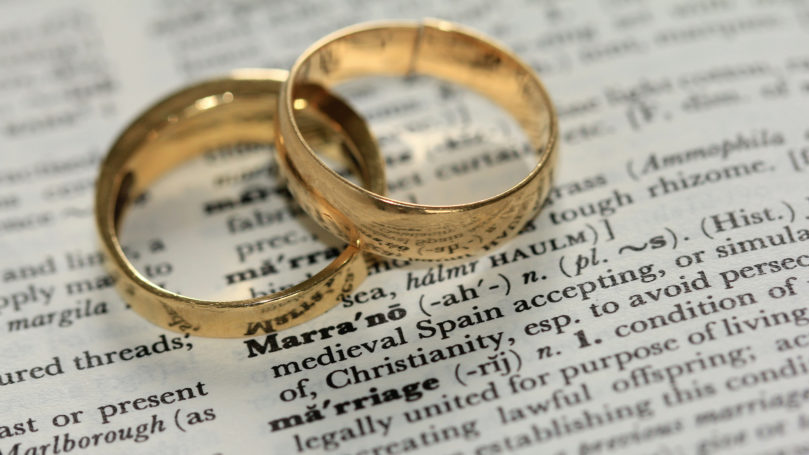 Marriage, the family and divorce
